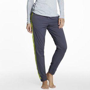 Fabletics Dunedin Grey Joggers Pants Stripe (S)
